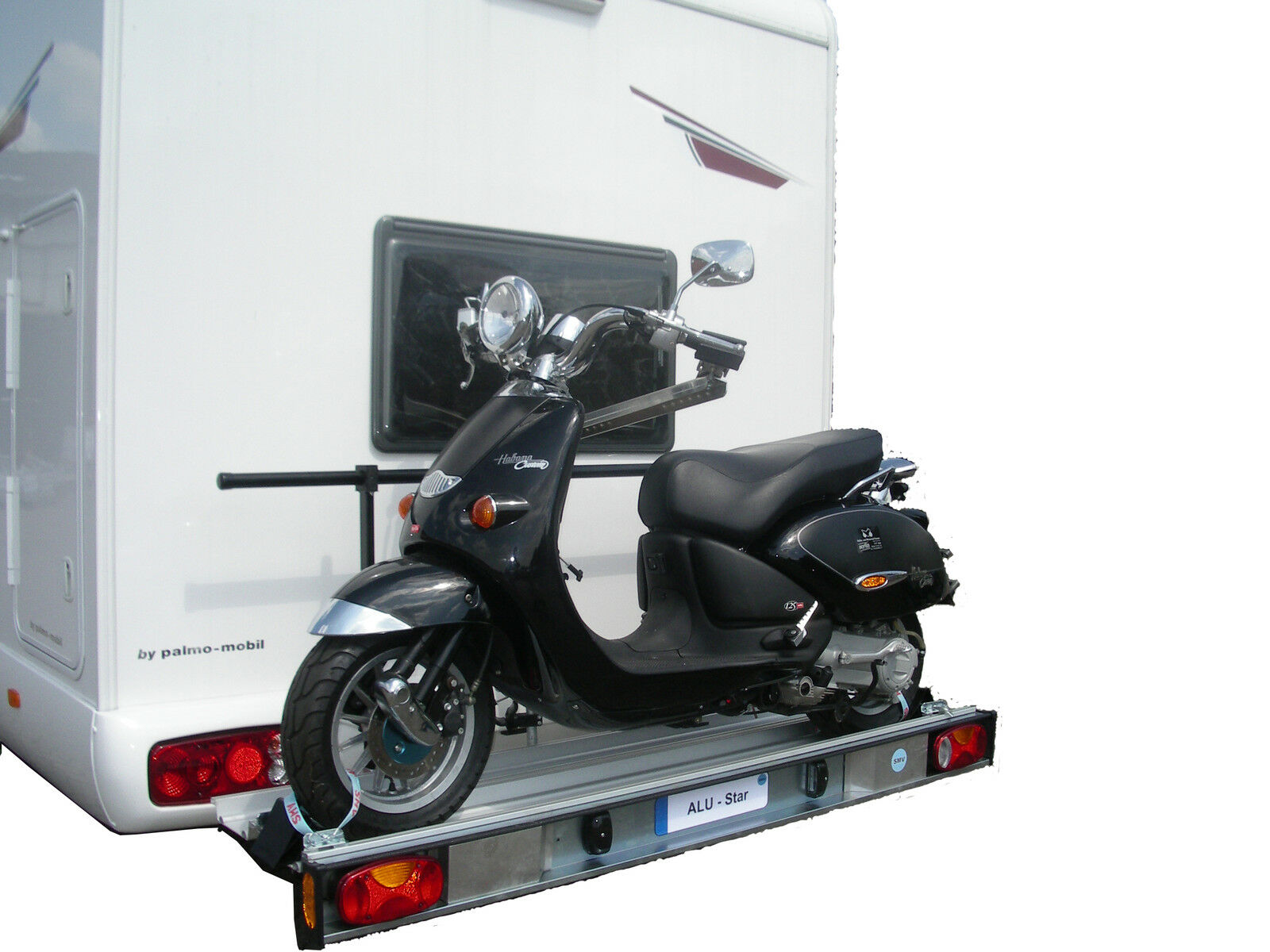 motorradtr ger rollertr ger nutzlast 150kg fiat ducato. Black Bedroom Furniture Sets. Home Design Ideas