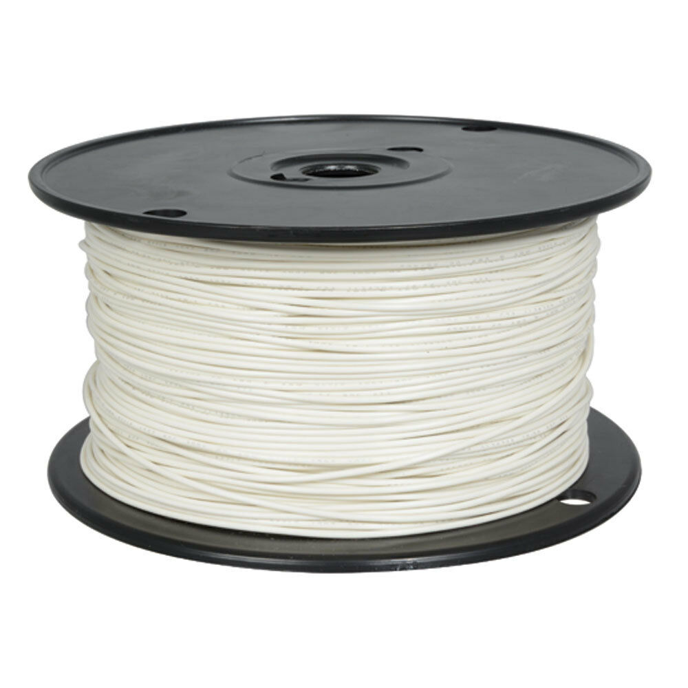 20 AWG WHITE Stranded Tinned-Copper Hook-Up Wire 1000 Feet - $59.95 ...