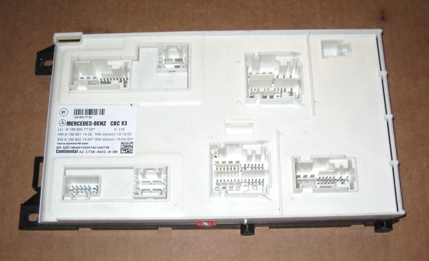 2009 2010 2011 2012 Mercedes E350 E550 E63 Fuse Box Module Part#  1569007702, Oem 1 of 4Only 4 available ...