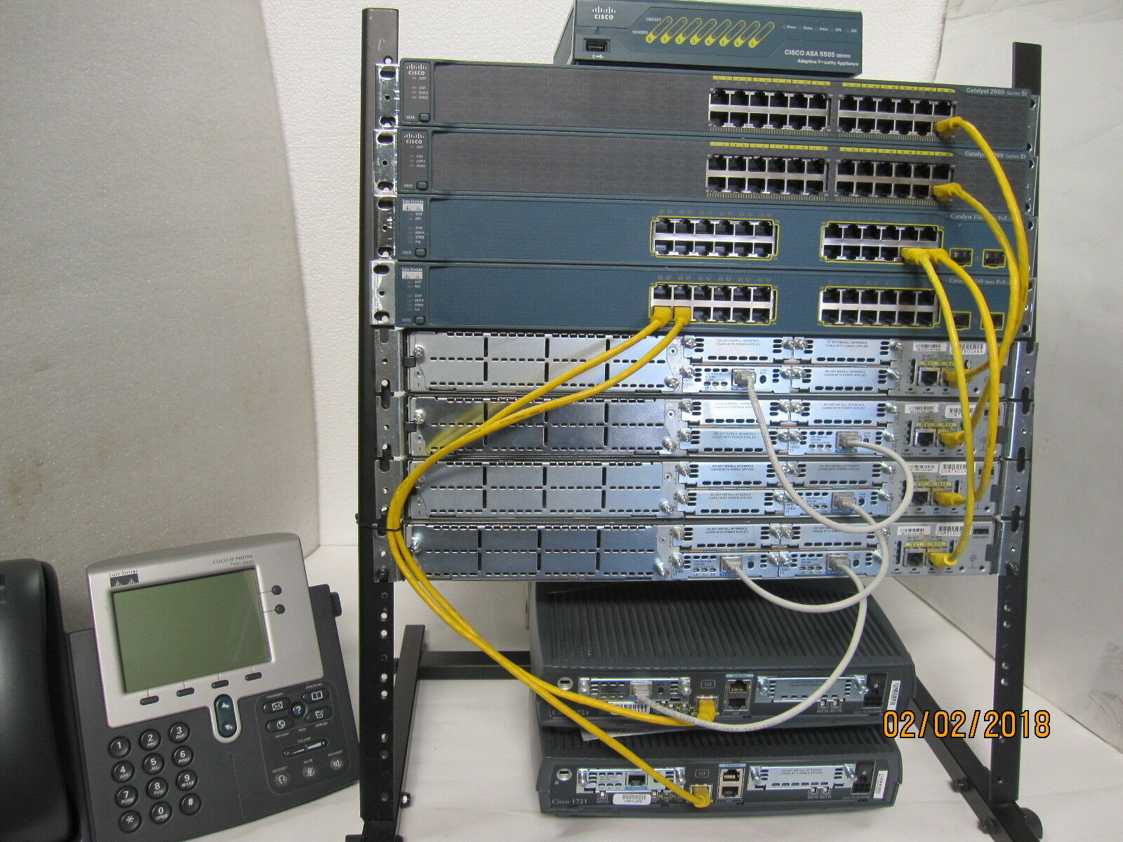 How To Configure Intervlan Routing On Layer 3 Switches Cisco 1 Ebay Seller 200 125 Ccna Ccnp Security Lab Kit Asa5505