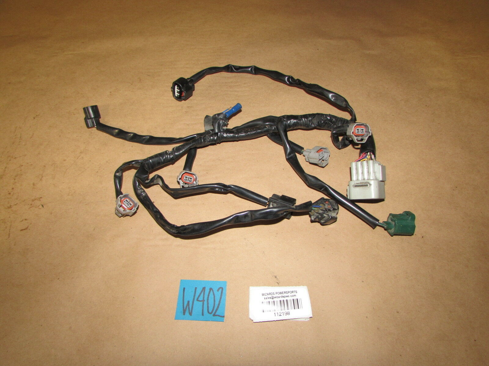 Yamaha 2006 Fz 1 Injector Wiring Harness Fuel Injection Wire Loom Oem 06 07 08 Of 1only Available See More