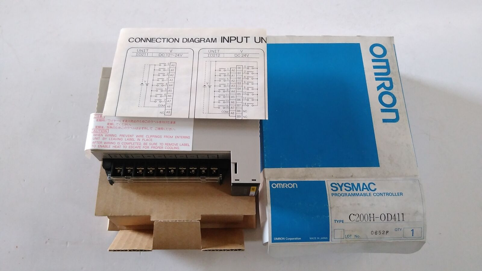 Omron New Other C200h Od411 Output Unit Plc 8213 Picclick Drive Wiring Diagram 1 Of 6free Shipping