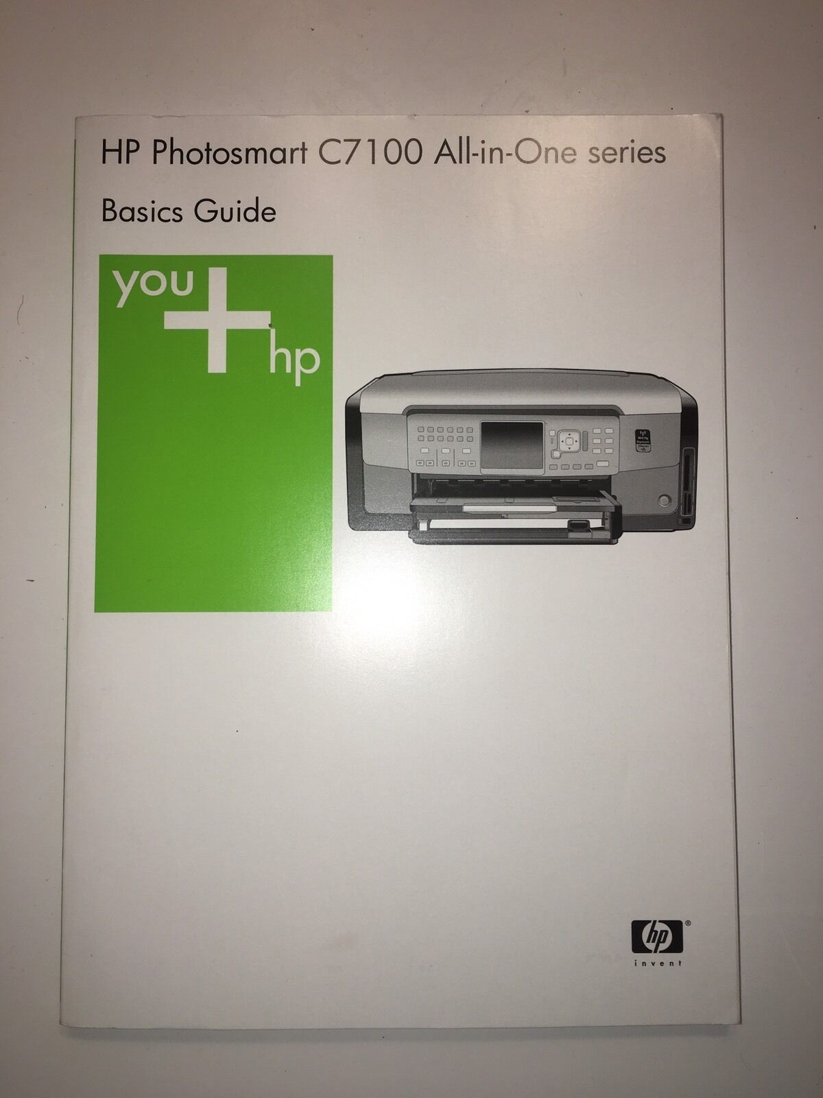 HP Photosmart C7100 Series All In One User Guide for Mac Windows 1 of 1Only  1 available ...