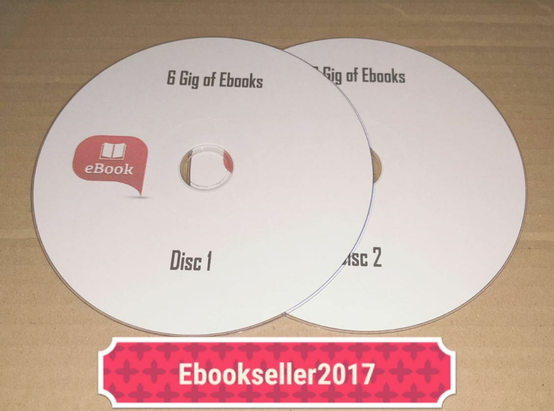 Ebooks over 6 gig on 2 discs and resale rights nearly 2000 books 1 di 6 vedi altro fandeluxe Images
