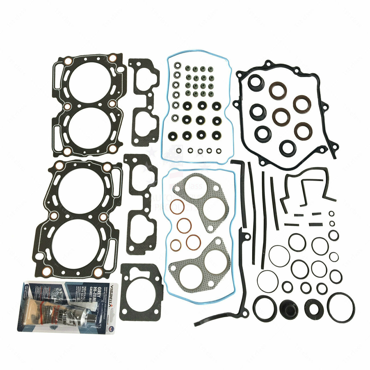 Head Gasket Set For 99 03 Subaru Legacy Impreza Forester Outback 25 1998 1 Of 2only 5 Available