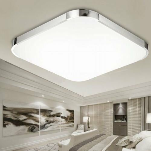 Lampada da soffitto 48 led plafoniera quadrata lampadario for Lampadario da soffitto