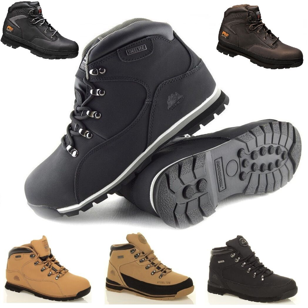 Mens Groundwork Lightweight Safety Steel Toe Cap Work Trainers Shoes