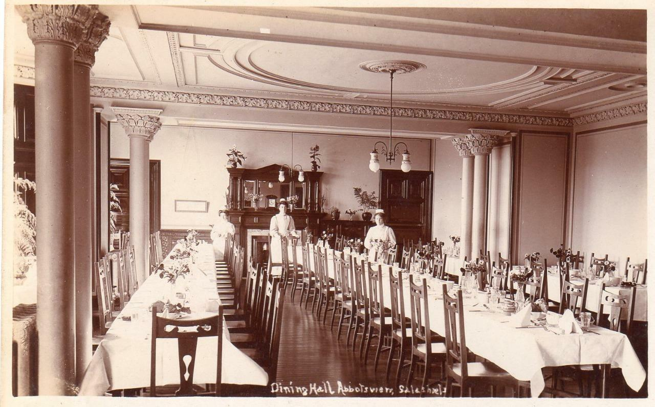 Dining hall abbotsview home sanatorium galashiels unused for Dining hall pictures home