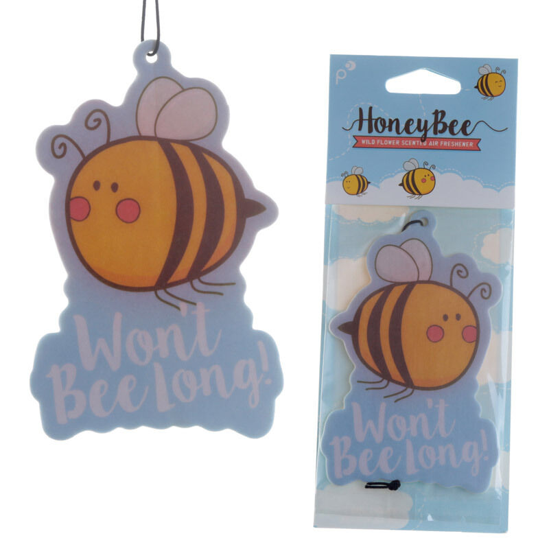 Honey Bee Air Freshener Car Room Bee Keeping Gift Fun Honey Smell New Gifts