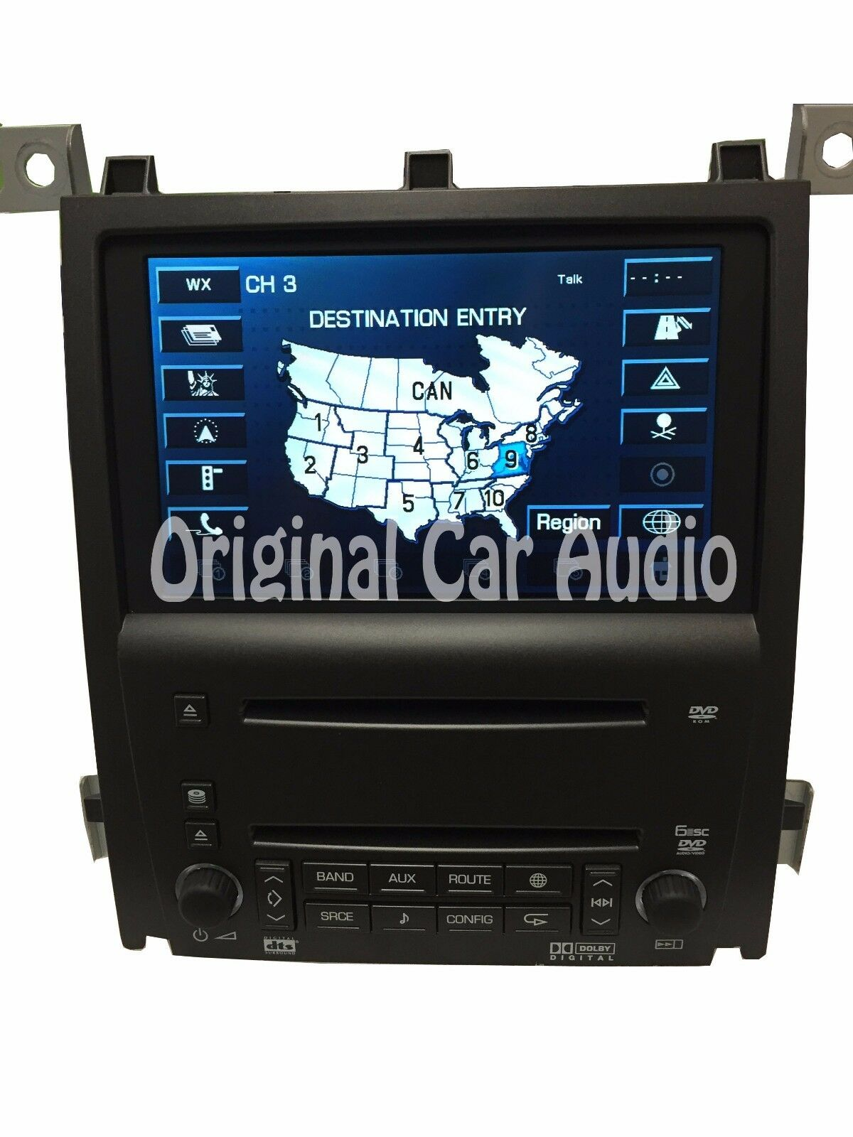 Cadillac STS Navigation GPS LCD Screen 6 Disc CD Changer DVD Player  10377613 1 of 10Only 2 available ...