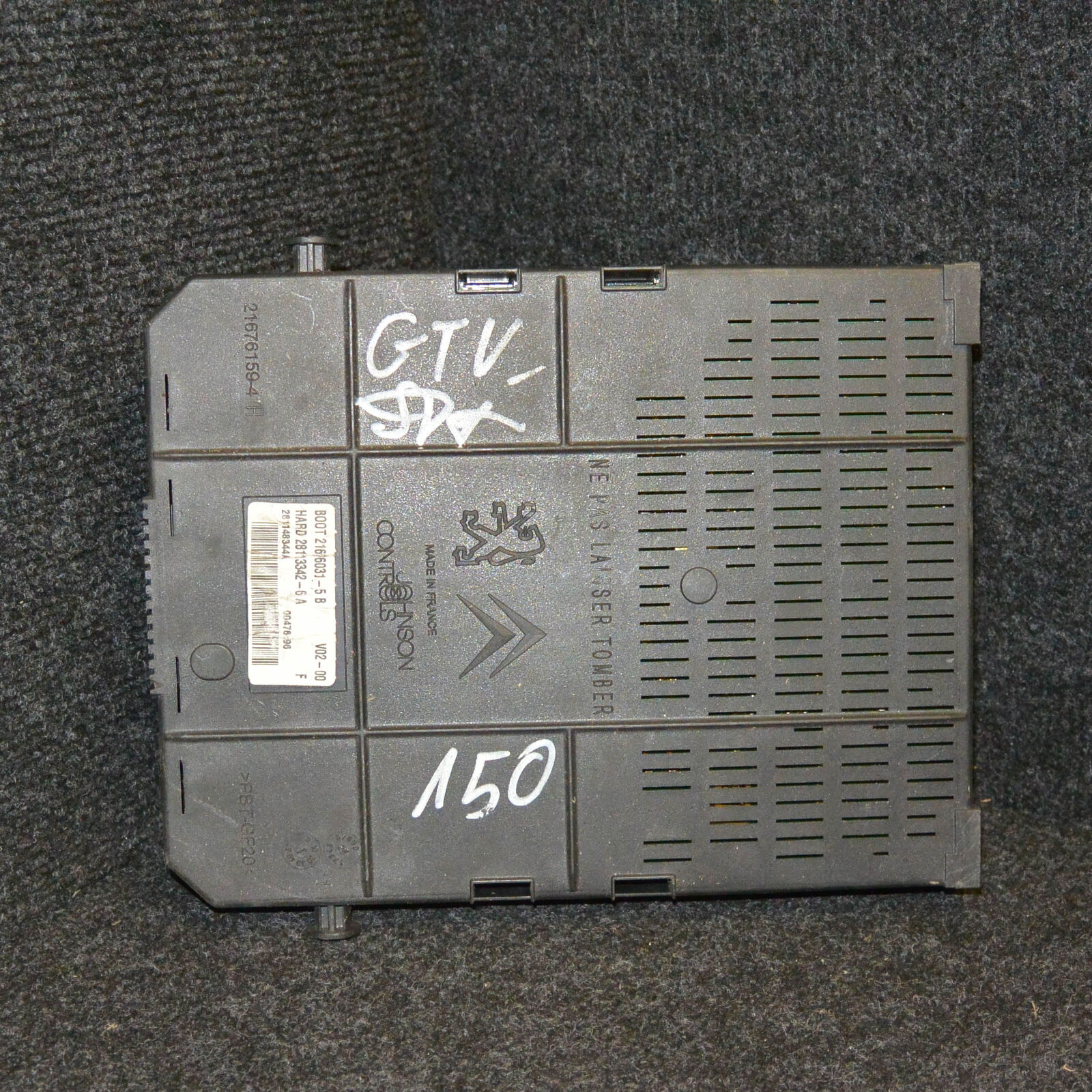 Citroen C4 Mk1 Fuse Box 16 Petrol 80kw 9660105680 2005 3000 Fault 1 Of 9only Available
