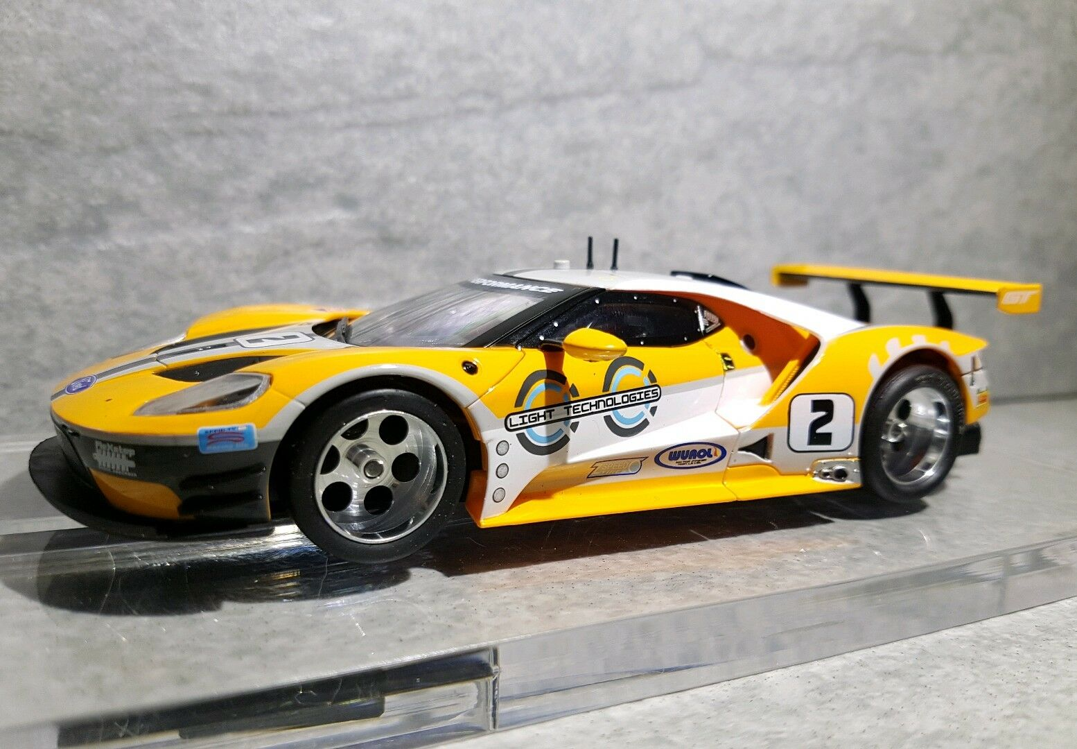 carrera evo umbau auf digital 132 ford gt super tuning. Black Bedroom Furniture Sets. Home Design Ideas