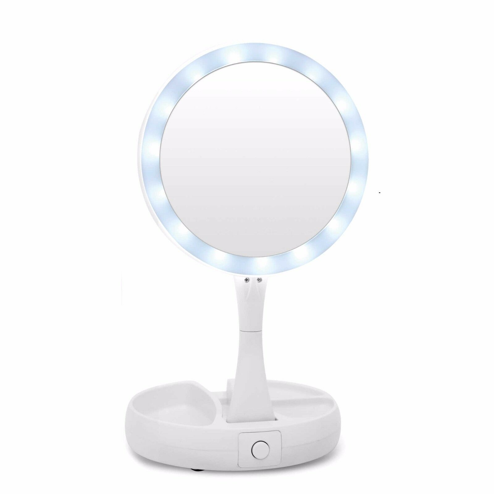 My Fold Away Mirror The Lighted Double Sided Vanity Makeup As Seen On 1 Of 7free See More