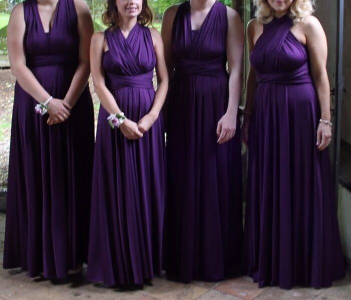 Twist And Wrap Bridesmaid Dress 1 Of 5only Available