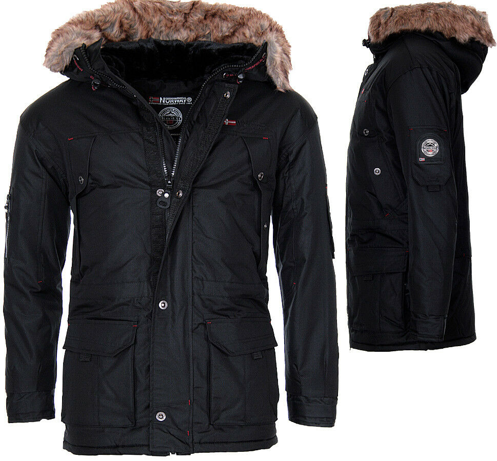 geographical norway herren sehr warm winterjacke parka. Black Bedroom Furniture Sets. Home Design Ideas
