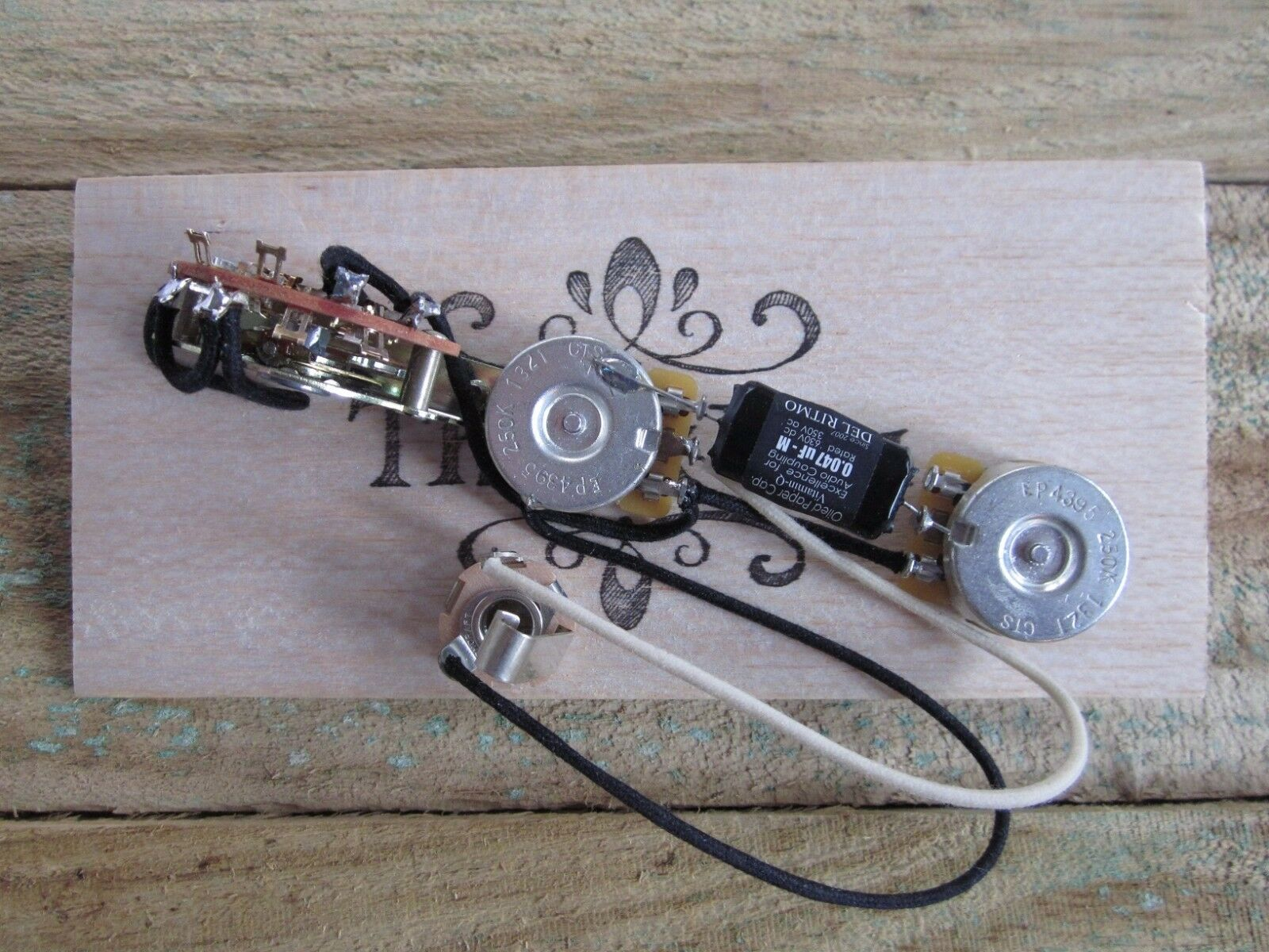 New Pre Wired Telecaster 60s Wiring Harness Vintage Back Cts Pots 69 Thinline Diagram 1 Of 6