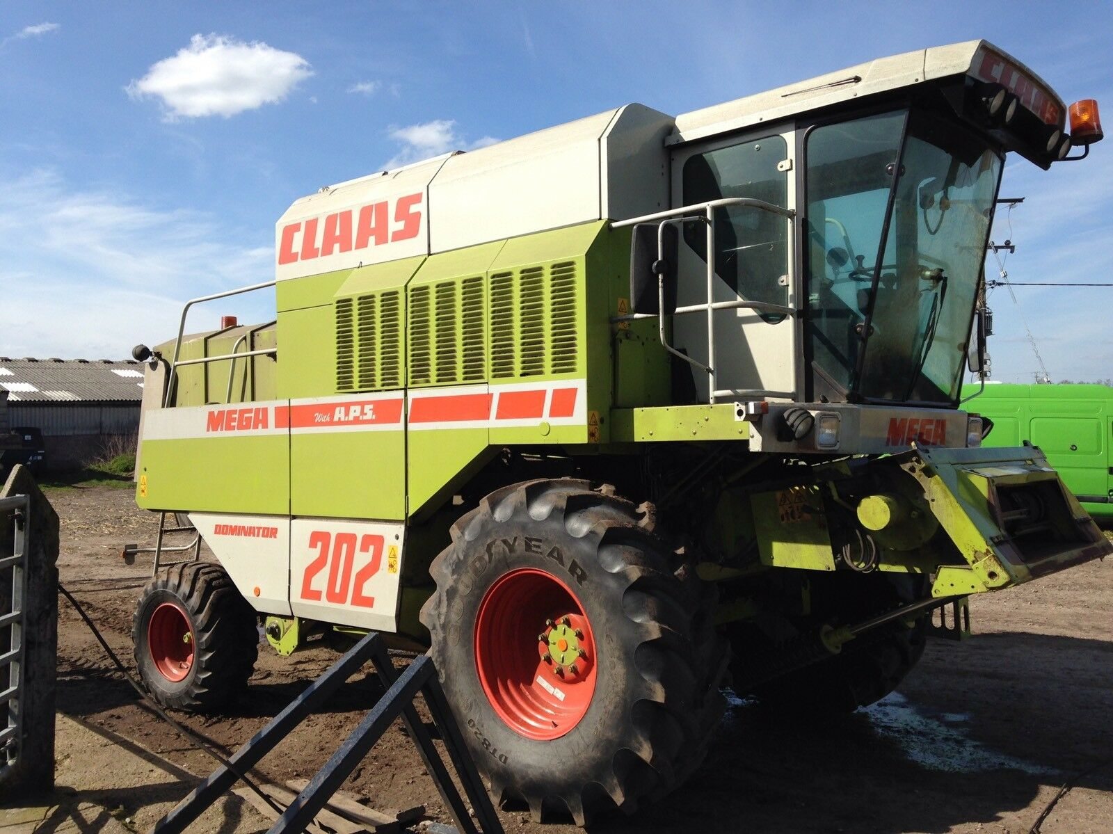 Claas Mega 202 Dominator Combine 1995 1 of 3Only 1 available ...