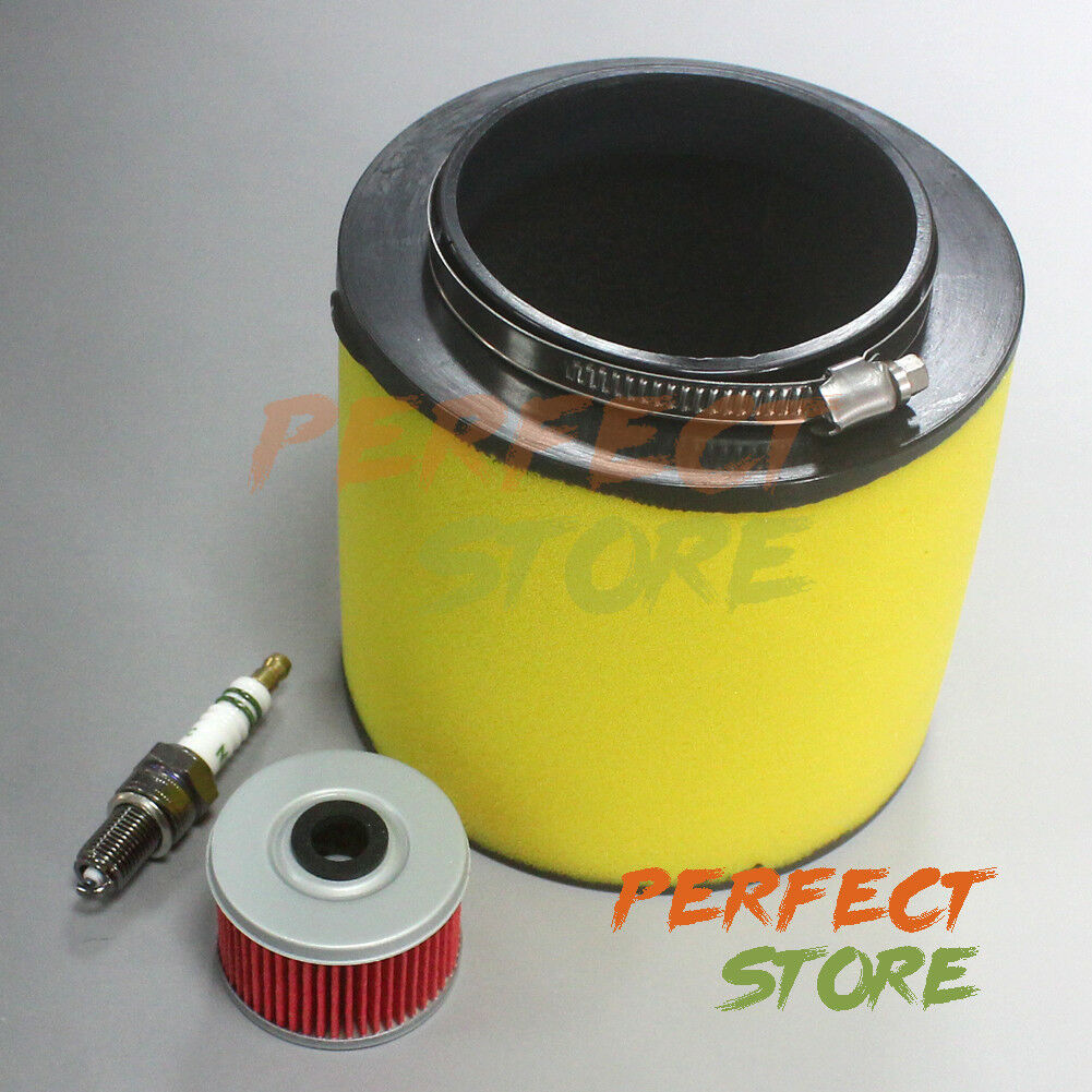 Honda Foreman 400 Fuel Filter Air Tune Up Kit F Rancher Sportrax 1999 2017 1 Of 6free Shipping