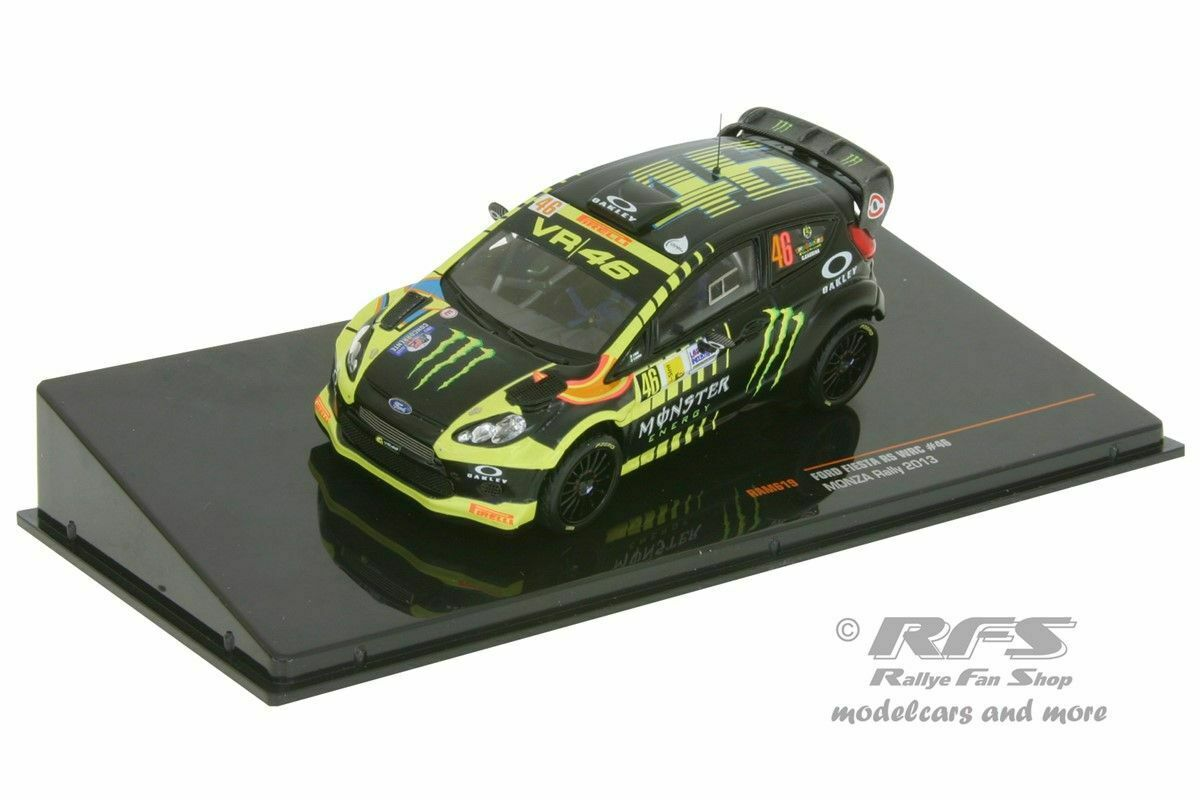 ford fiesta rs wrc monza rallye show 2013 valentino rossi. Black Bedroom Furniture Sets. Home Design Ideas