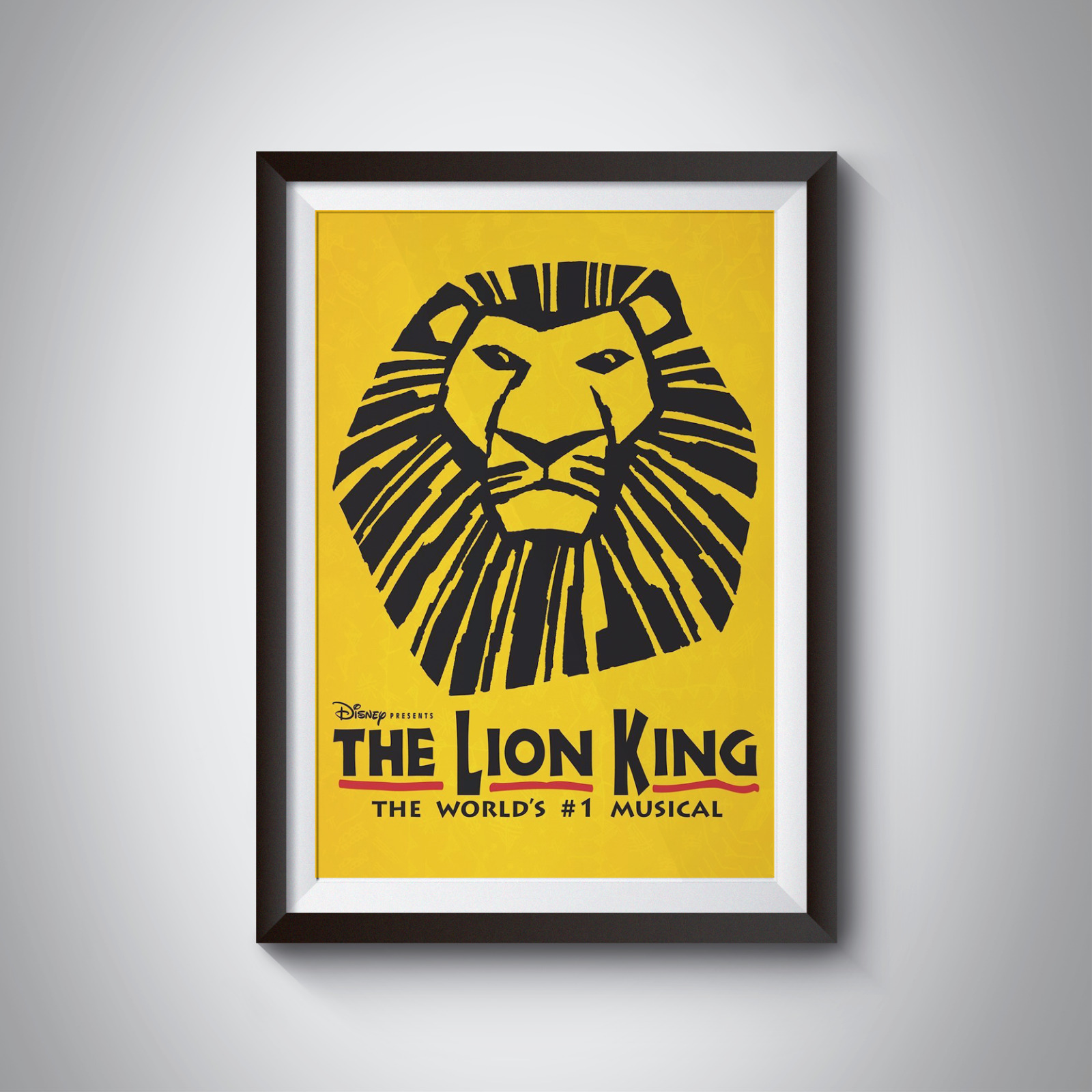 THE LION KING - MUSICAL POSTERS - A4 - A3 - Home / Office / Wall Art ...