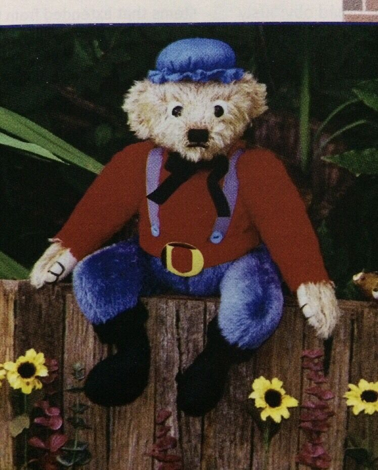 HUMPTY DUMPTY Themed Bear SEWING PATTERN By Tiny Roeder - £1.99 ...