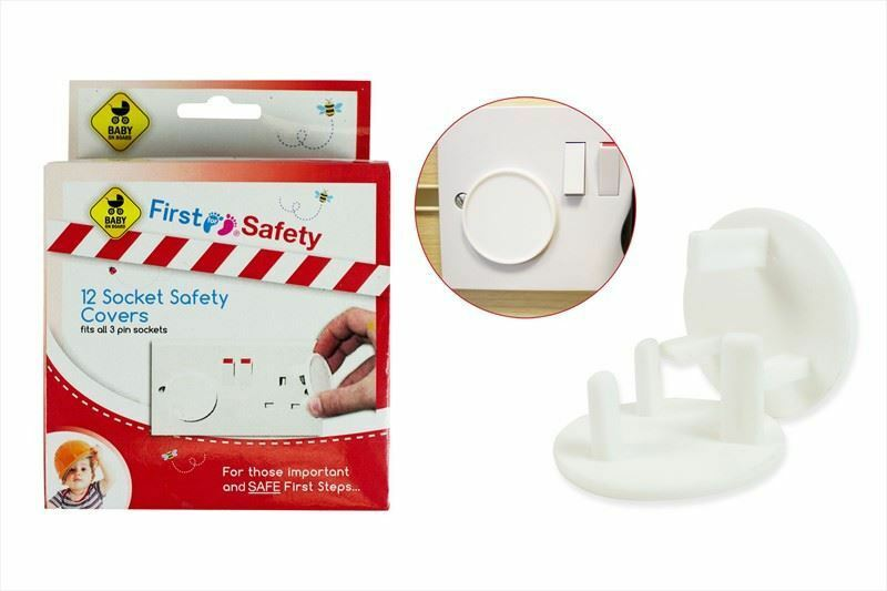 12 HOME SAFETY Plug Socket Covers Baby & Child Proof ...