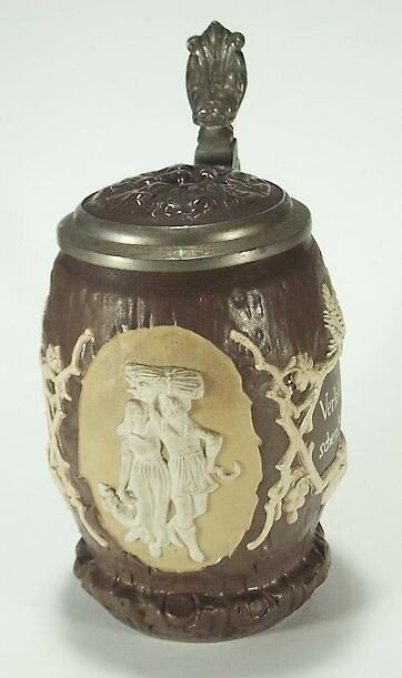 bierkrug mettlach villeroy boch 19 jh der reben und der gerstensaft picclick de. Black Bedroom Furniture Sets. Home Design Ideas