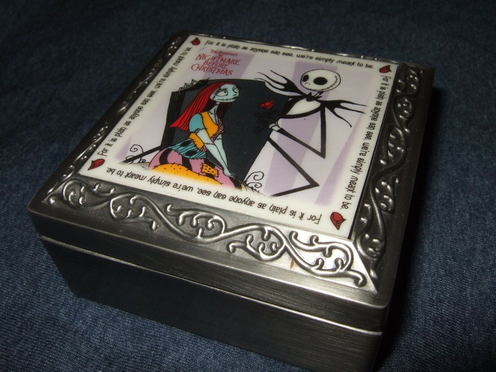 RARE 1993 NIGHTMARE Before Christmas Were Simply Meant To Be Jack ...