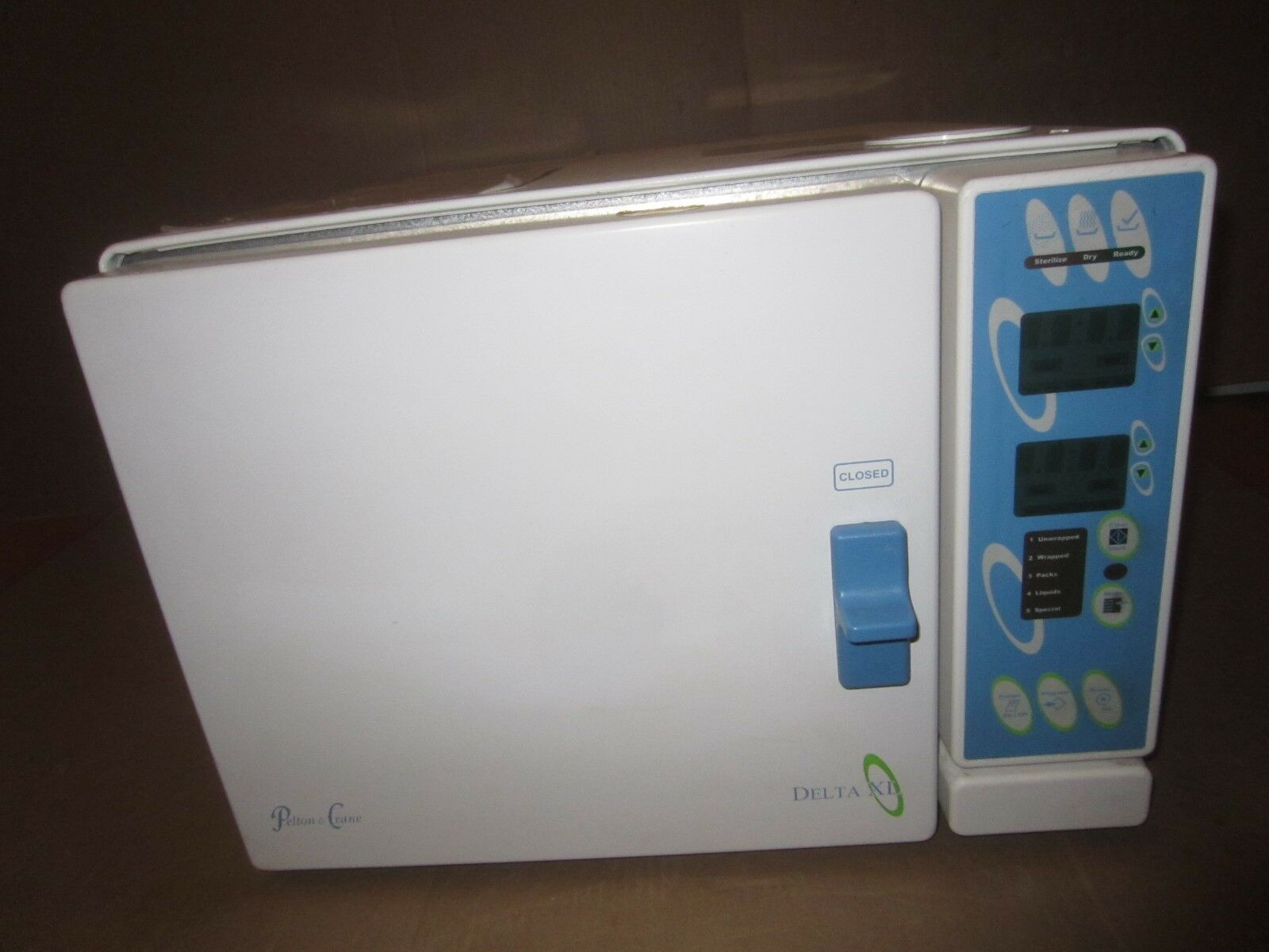 """Pelton & Crane Delta XL 10"""" AF Autoclave w/ 2 Trays dental steam sterilizer  1 of 7Only 1 available See More"""