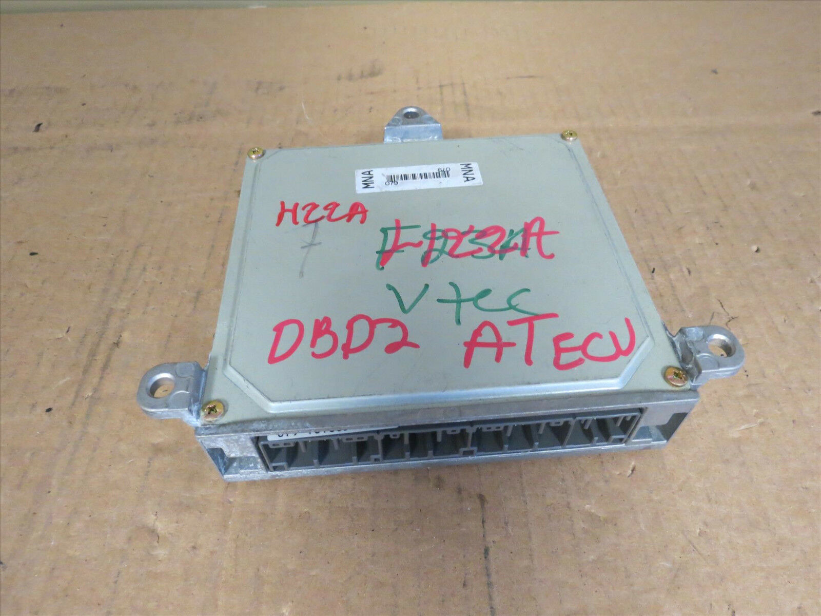 Jdm 97 01 Honda Prelude H22a 22l Dohc Obd2 Automatic Vtec Ecu 37820 Wiring 1 Of 4only Available