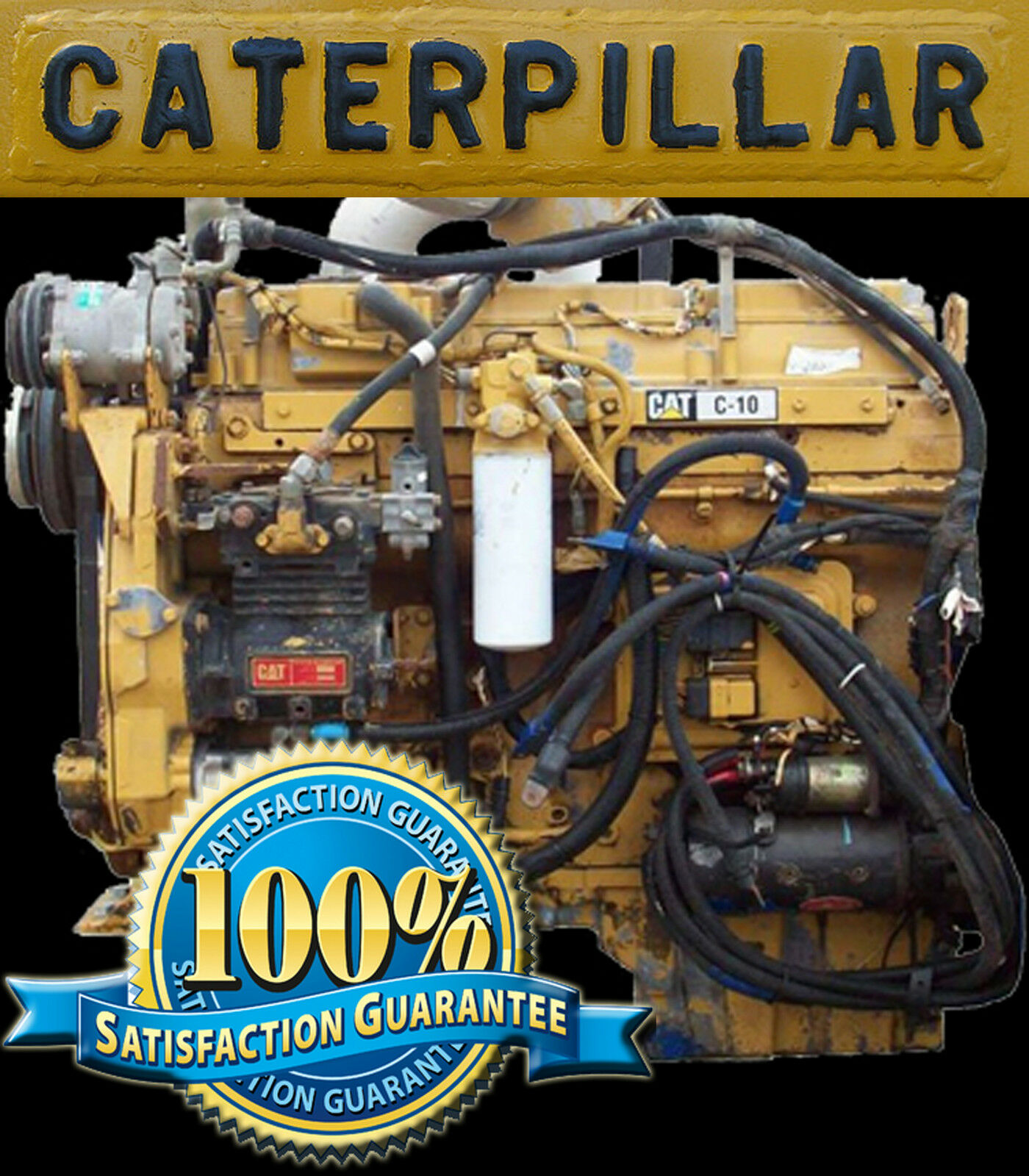 Caterpillar Cat C10 C12 On-Highway Engine Repair Service Maintenance Manual  1 of 1Only 2 available ...