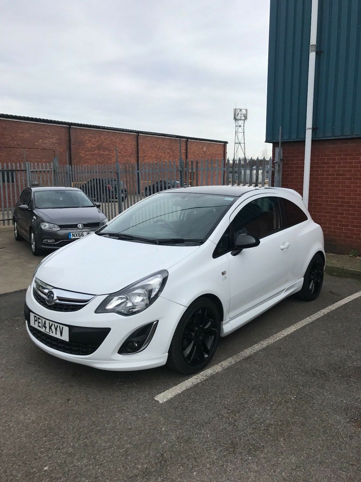 2014 vauxhall corsa 1 2 3dr limited edition 17 alloys petrol white manual 4 picclick uk. Black Bedroom Furniture Sets. Home Design Ideas