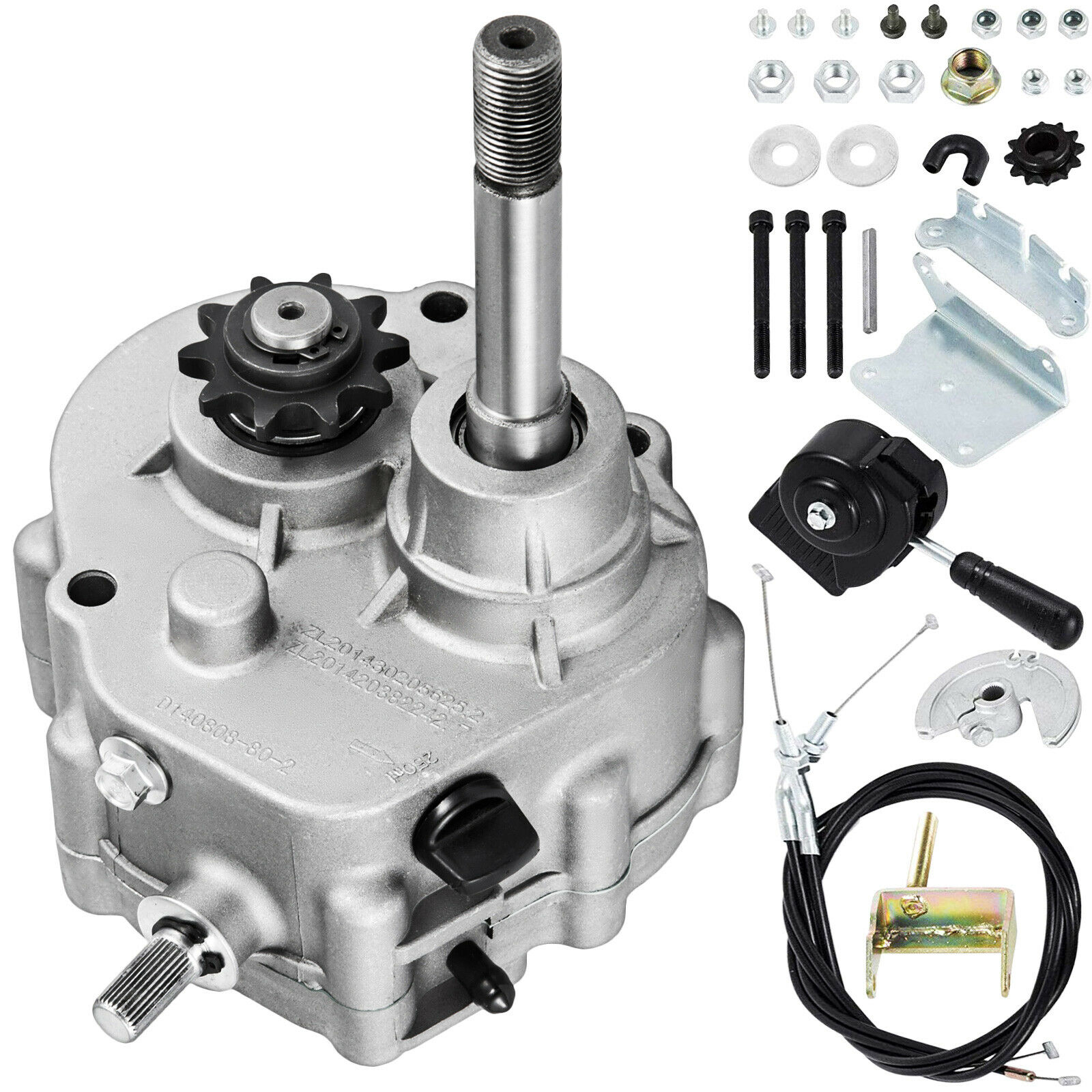 Go Kart Forward Reverse Gear Box Fits 2hp 13hp Engine 41p 10t Or Comet Torque Converter Off Road 1 Of 12only Available