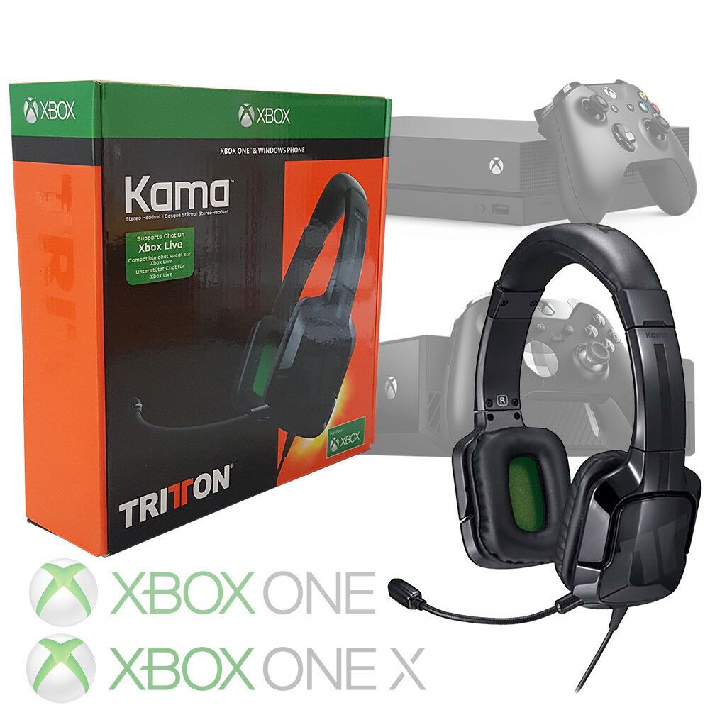 TRITTON KAMA STEREO Headset for XBOX ONE X and XBOX ONE S - Black ...