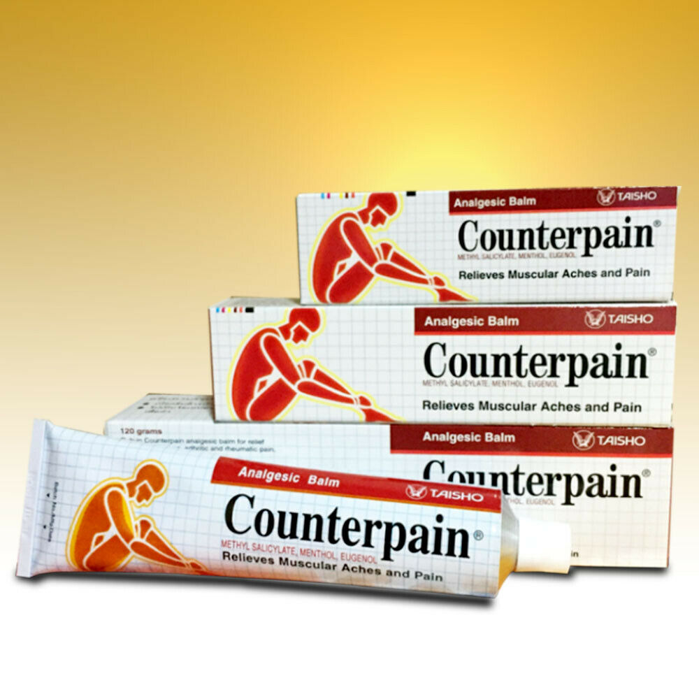 Counterpain Analgesic Balm Cream Warm Relief Muscular Pain Aches 60g 1 Of 1free Shipping