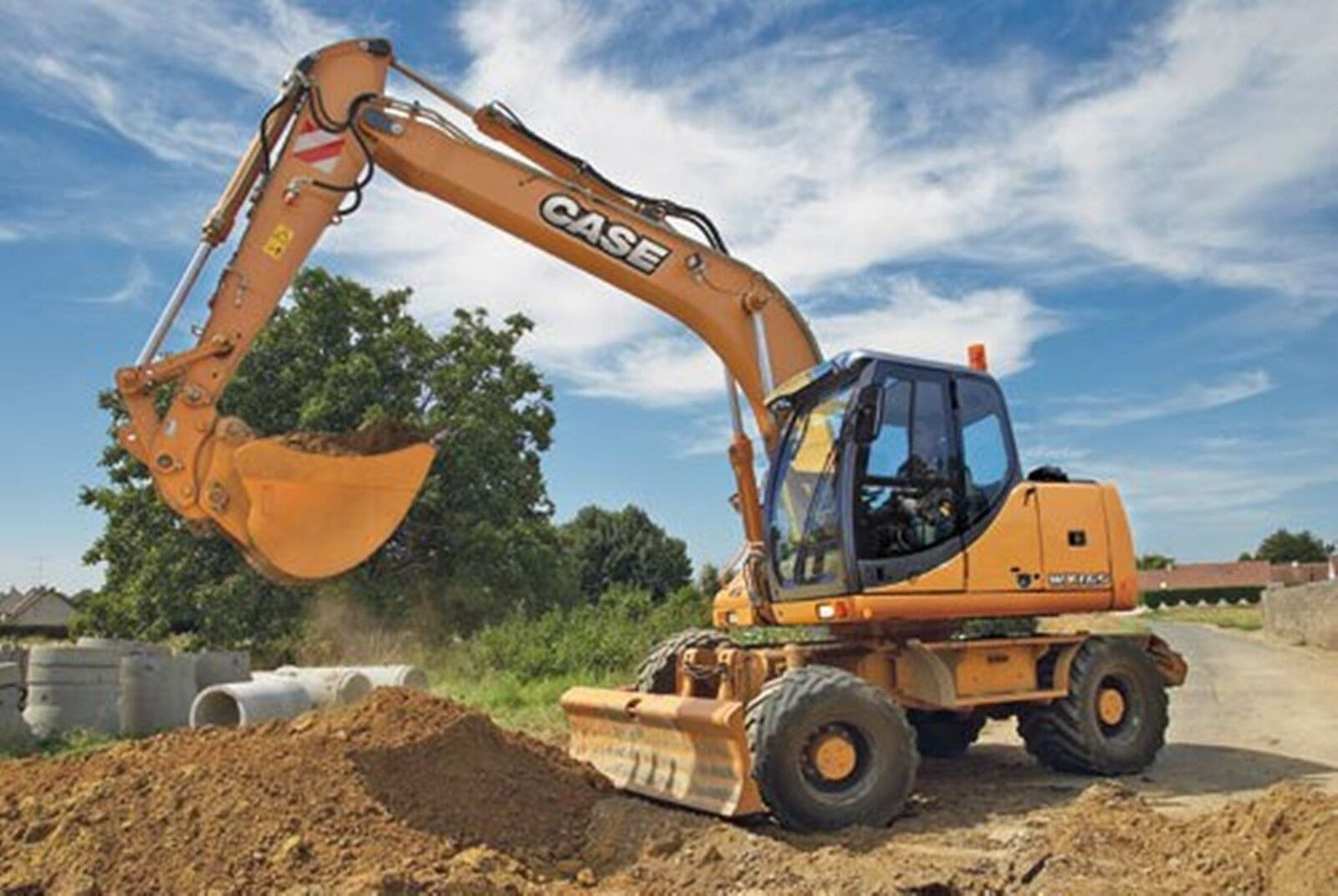 Case WX145 - WX165 & WX185 Excavator Workshop Manual 1 of 3FREE Shipping  See More