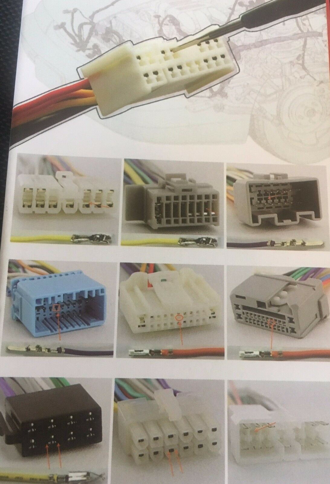 Wiring Harness Pin Removal Tool Electrical Diagrams Auto Set 5 Boxed Wire Connector Extractor Plug