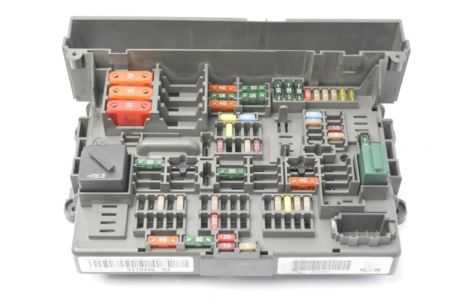 Bmw 3 Series E90 2004 2013 20d Rhd Power Distribution Fuse Box 1 Of 6only Available