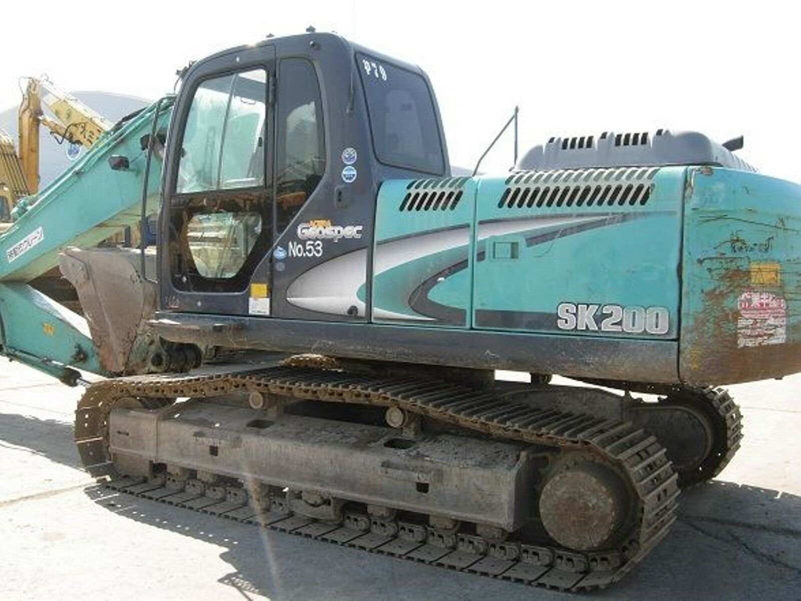 Kobelco Sk200 8 Sk210lc Excavator Workshop Manual 750 Sk210 Wiring Diagram 1 Of 4free Shipping