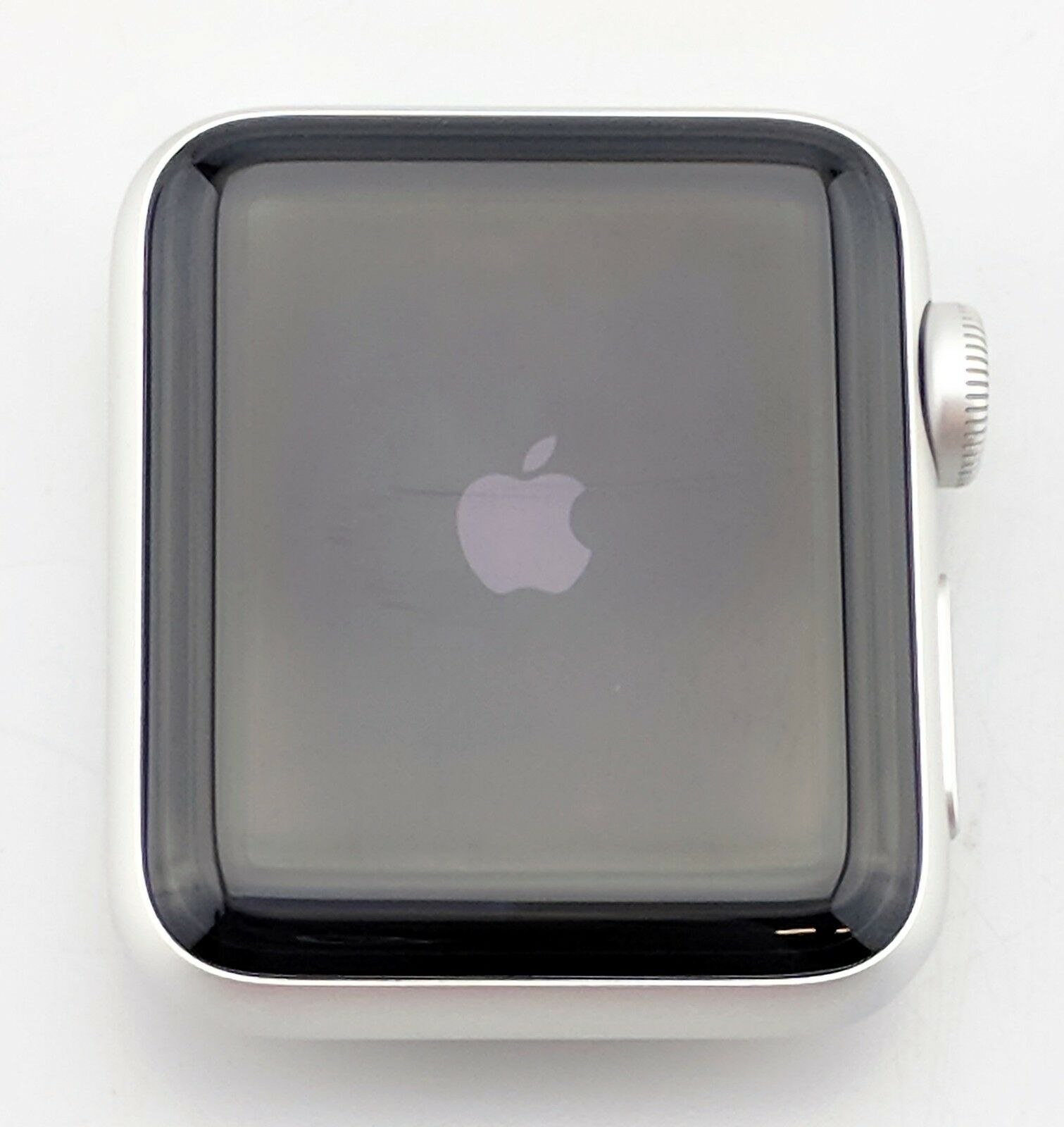 Apple Watch Series 2 Nike 38mm Silver Aluminum Case Gps Fair Black Shape 1 Of 3only Available