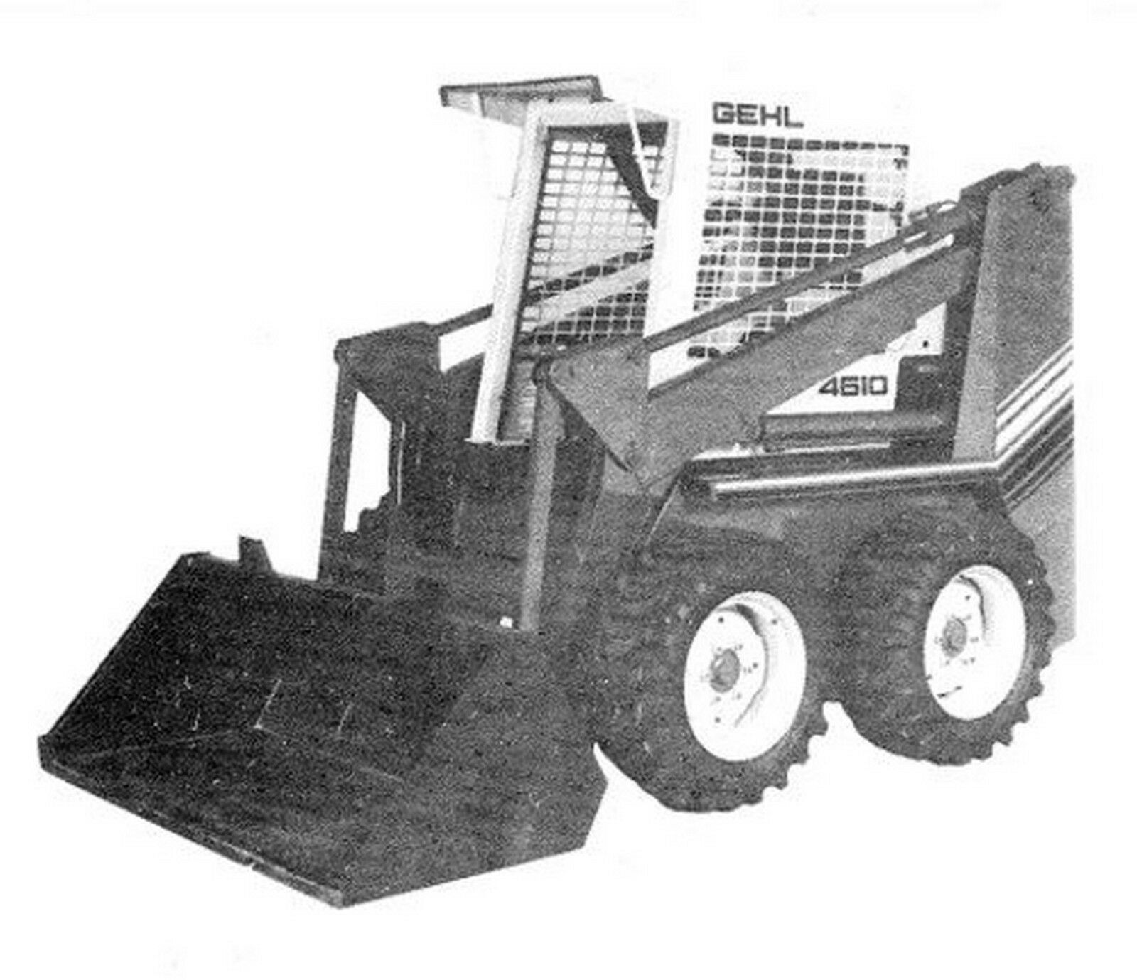 Gehl 4610 Skid Steer Loader Parts Manual 1 of 2FREE Shipping ...