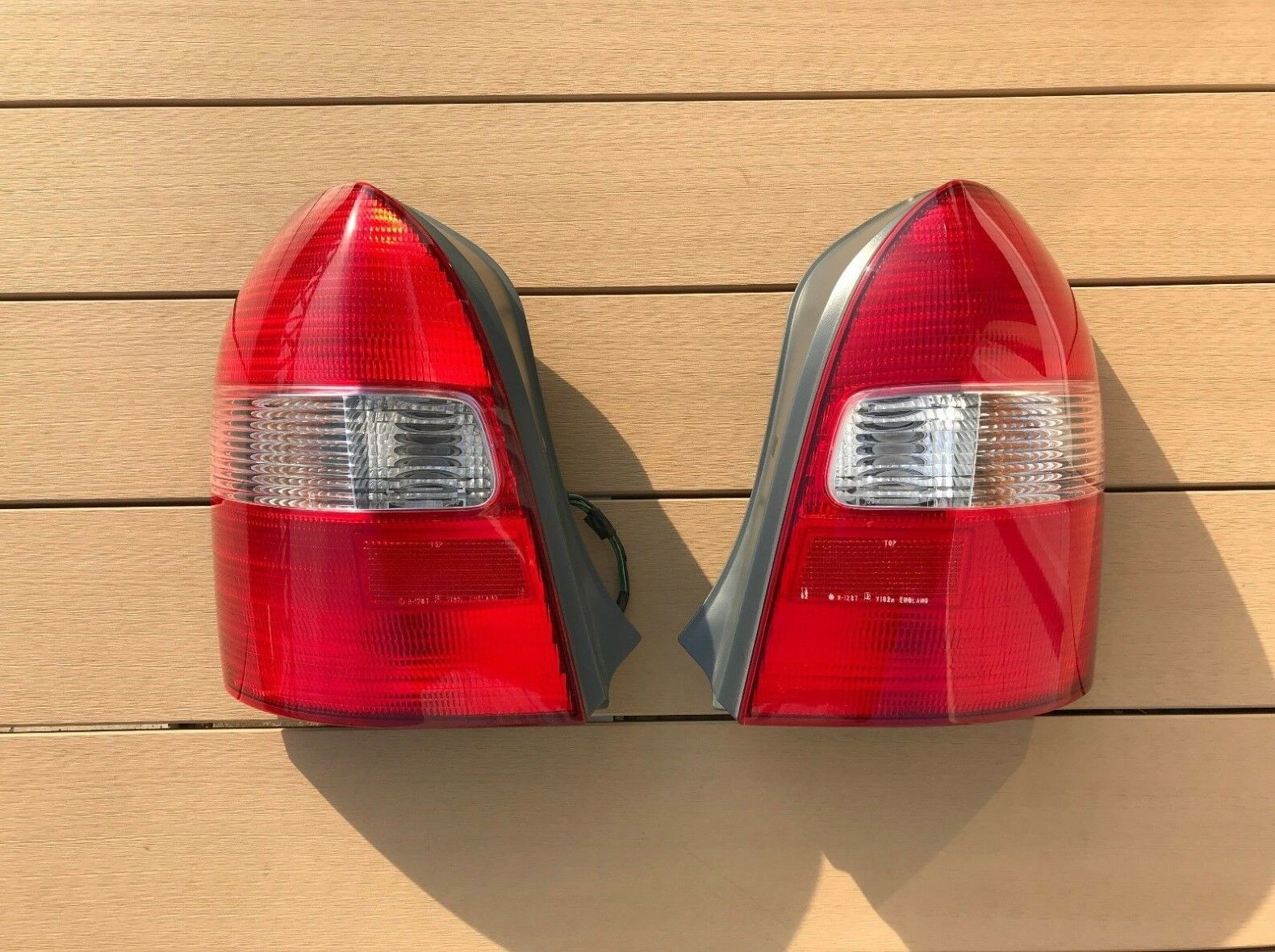 Jdm Mazda Familia Protege Protege5 Wagon Taillights Tail Lights 2002 5 Lamps Set Oem 1 Of 10free Shipping