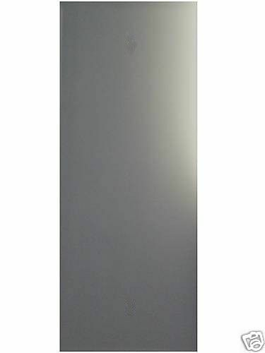 Frameless long wall mirror polished edge 48 x 12 4mm for Long wall mirror