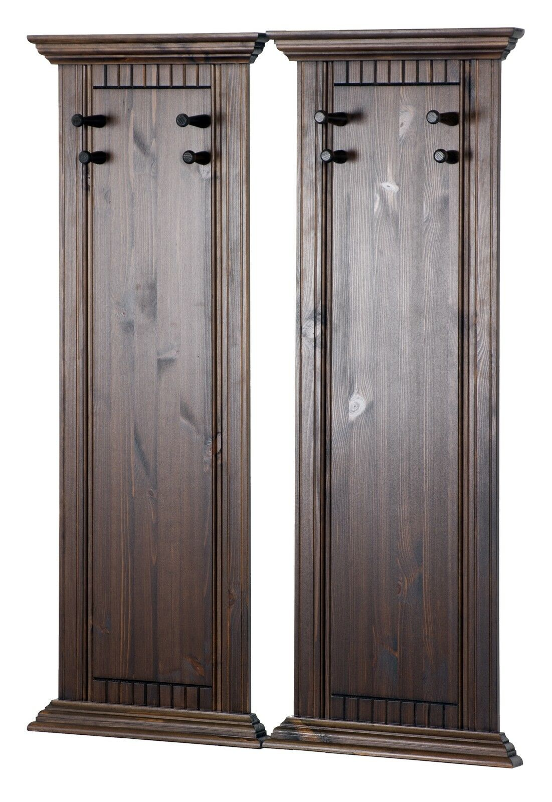 garderobenpaneel im 2er set garderobe wandgarderobe. Black Bedroom Furniture Sets. Home Design Ideas