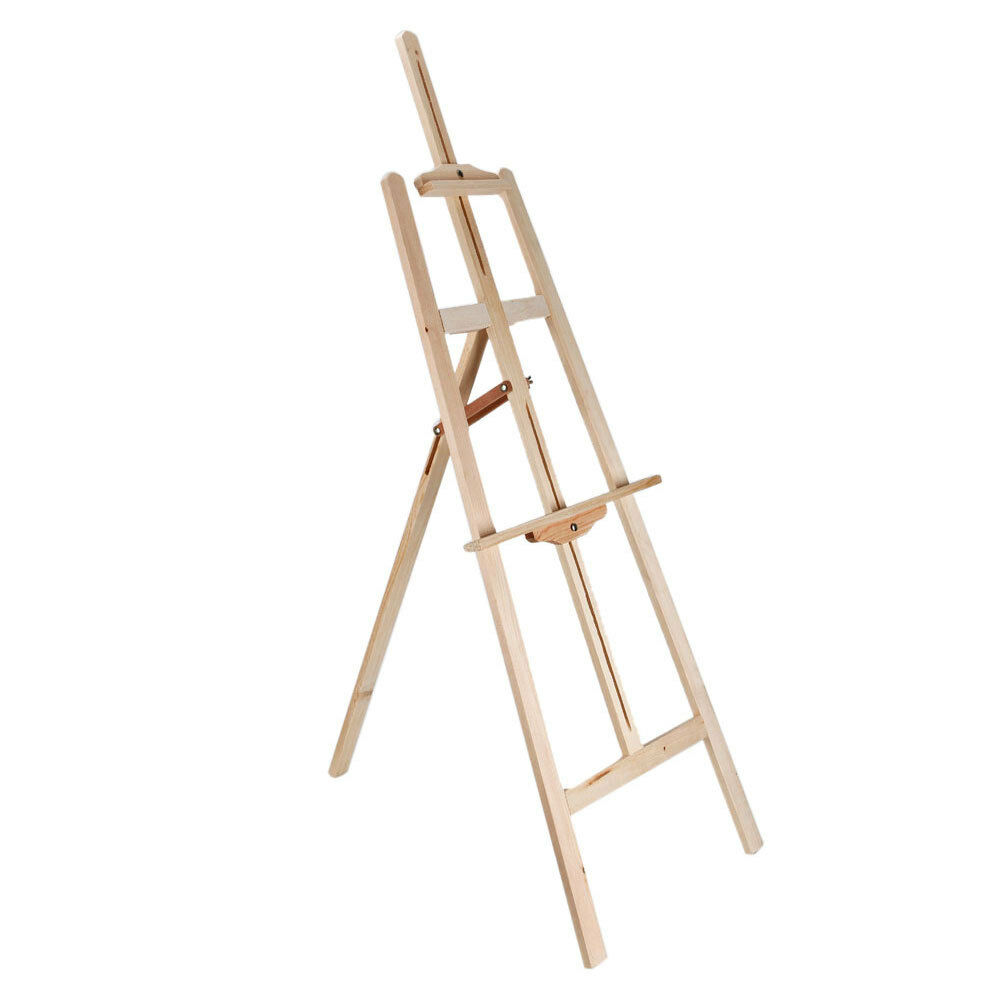 Durable artist wood wooden easel art stand solid for drawing sketching painting picclick - Durable exterior paint pict ...