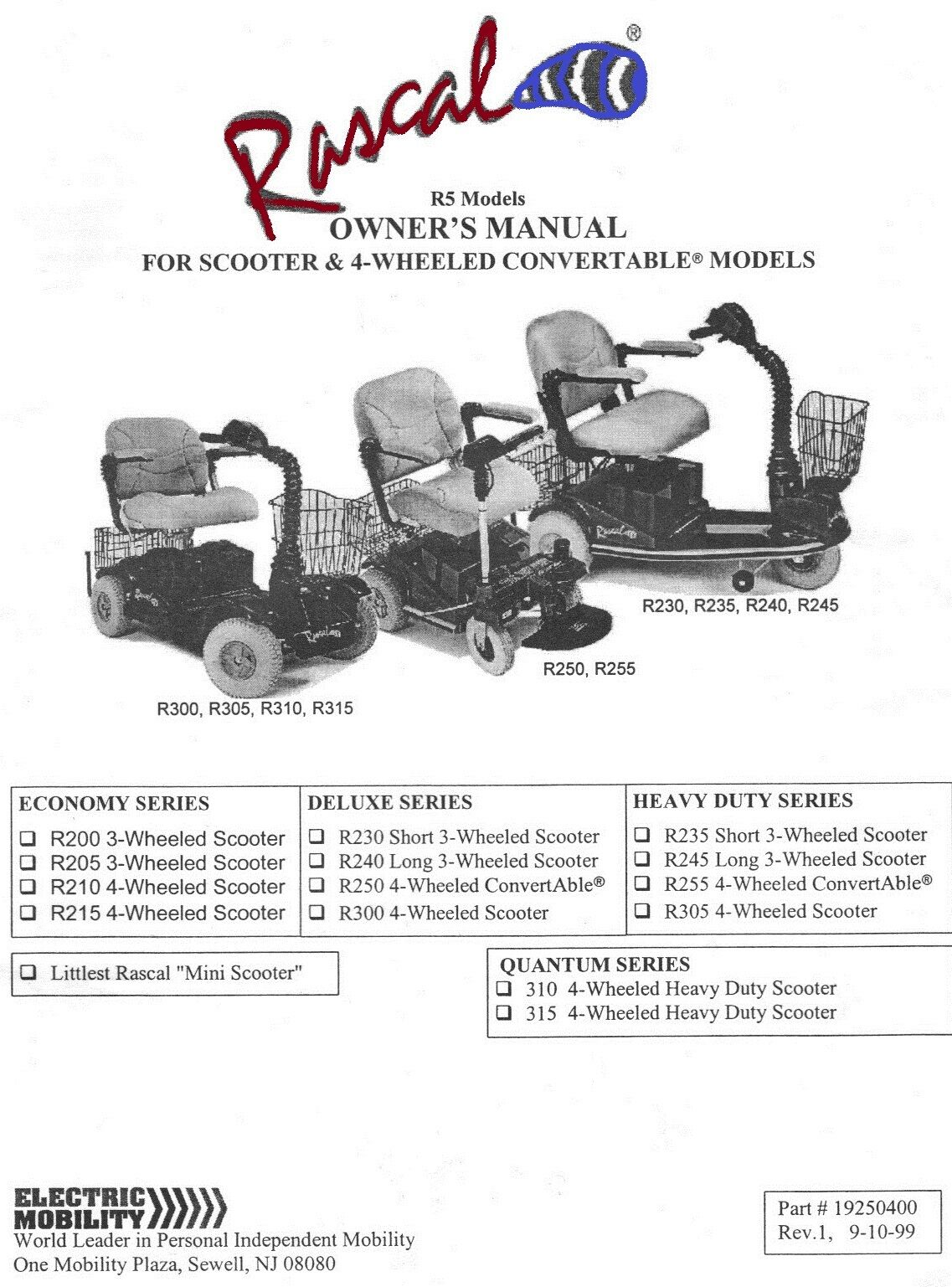 electric mobility rascal 255 schematic wiring diagram   53
