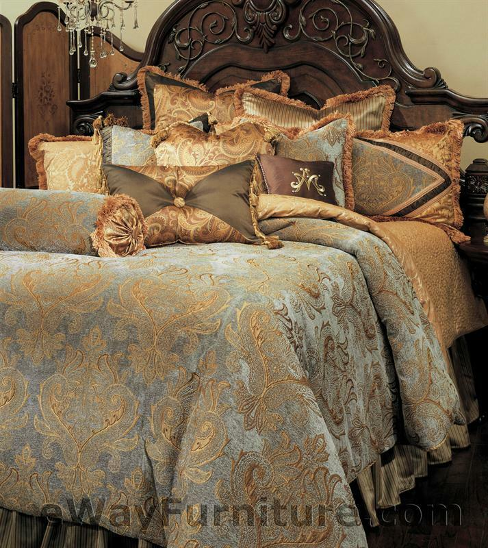 12 pc reversible elizabeth queen master bedroom luxury