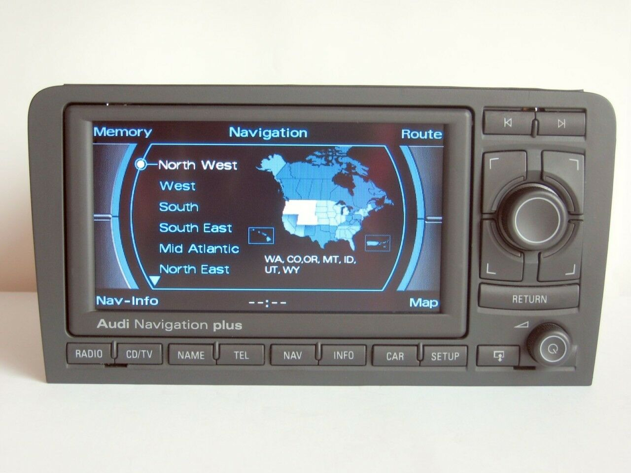 Usa Canada Oem Audi A3 S3 Rs3 Rns E 2017 Navigation Dvd Gps System Plus Wiring Diagram 1 Of 1only 2 Available
