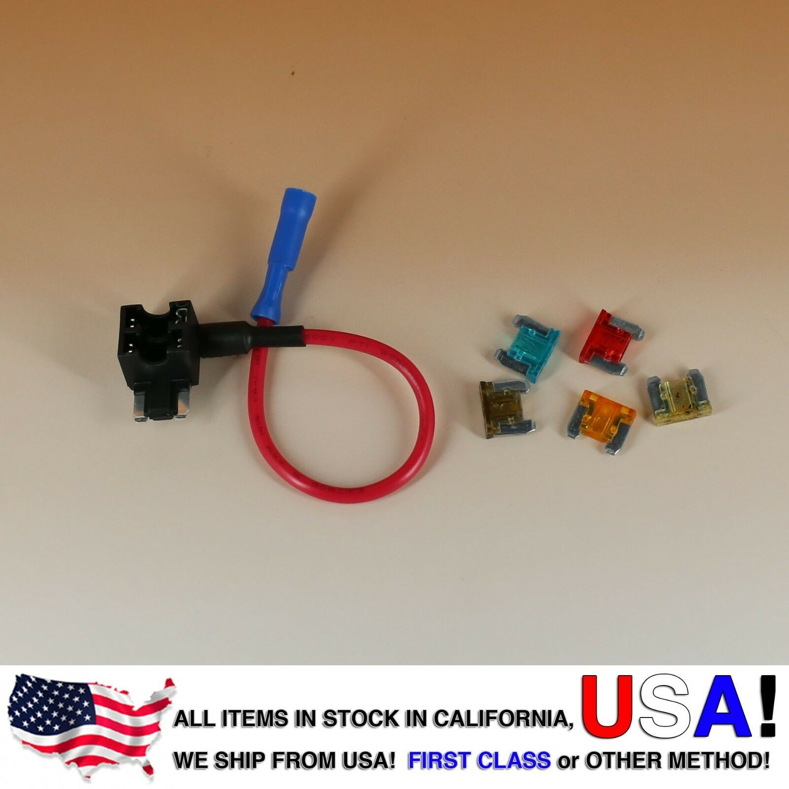 Add A Circuit Blade Style Atm Low Profile Mini Fuse Holder Tap Addacircuit 1 Of 6free Shipping