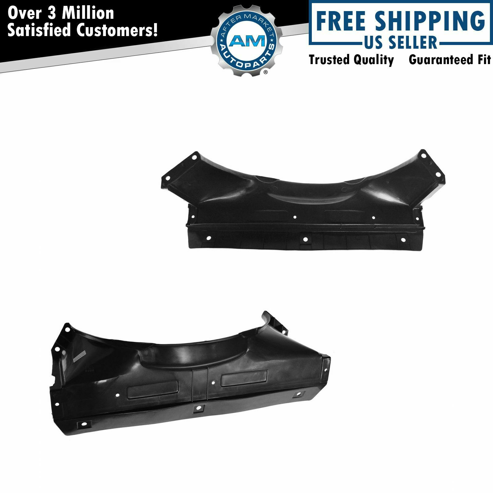 Radiator Fan Shroud Upper Lower Pair Set For S10 Blazer Jimmy Jeep Tj Derale Threadin Thermostat Control With Dual Threads 1 Of 7only 5 Available